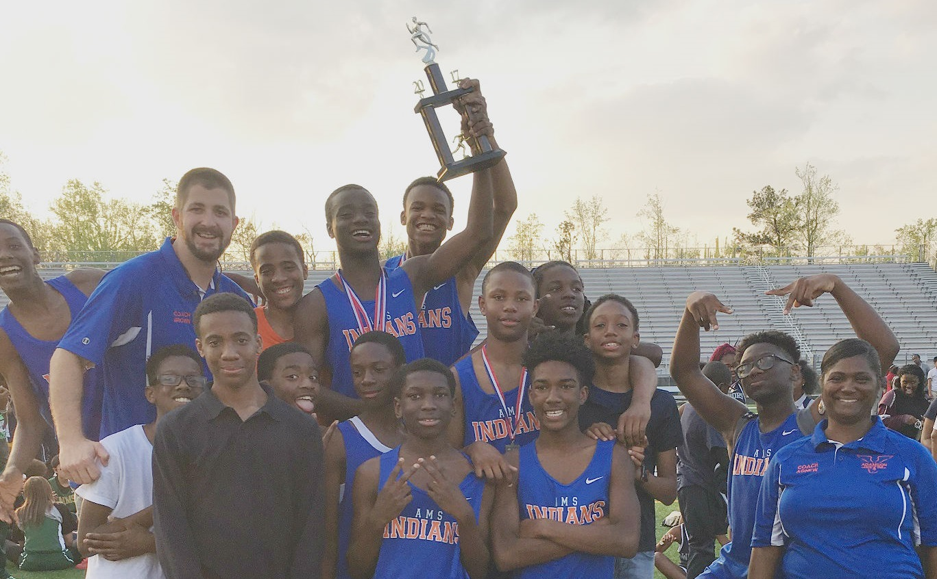District 2nd Place Track Champs